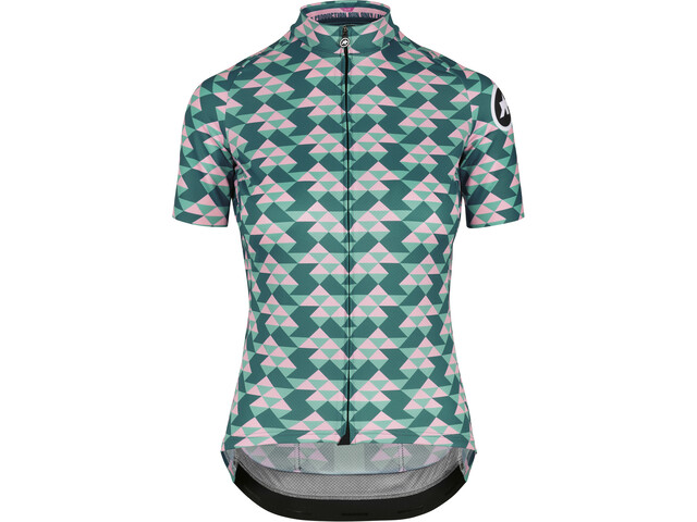 ASSOS Fastlane Diamond Crazy Maillot manches courtes Femme, brilliant green